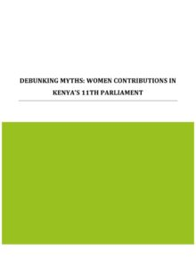 Thumbnail Of Debunking_Myths_on_Women_MPs_report