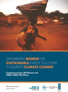 Thumbnail Of Empowering Women For Sustainable Energy Solutions To Address Climate Change (working Paper-draft Designation)