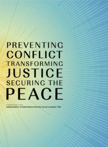 Thumbnail Of Preventing Conflict, Transforming Justice Securing The Peace – UNW Global Study