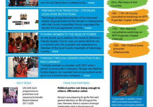 Thumbnail Of UN Women Kenya News_Issue 016