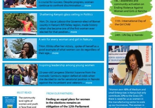 Thumbnail Of UN Women Kenya News_Issue 020