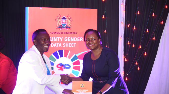 Gender Data For County Planning And SDG Monitoring Unveiled