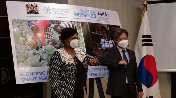 Women's Empowerment Project In Climate Smart Agriculture Launched