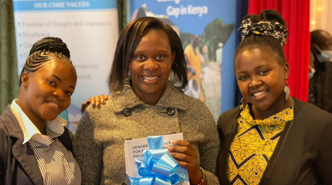 Post-graduate Research Adds To Growing Evidence Base Of Kenya's Gender Data Drive.